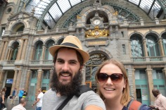 Antwerpen Station Selfie