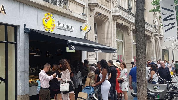 Like selling ice to eskimos (Australian Waffle House)