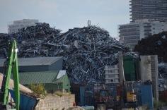 Random rubbish heap