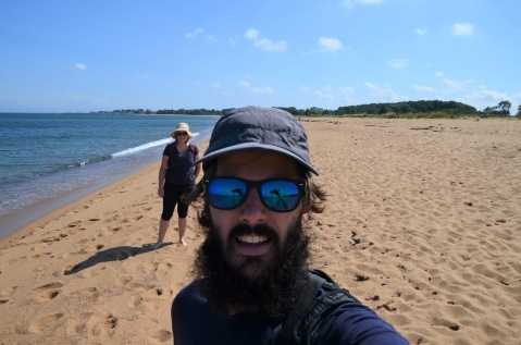 Swedish beach selfie