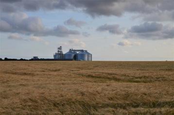 Huge silos