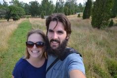 Meadow selfie