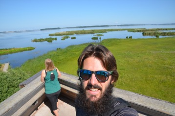 Bird Observation Deck Selfie