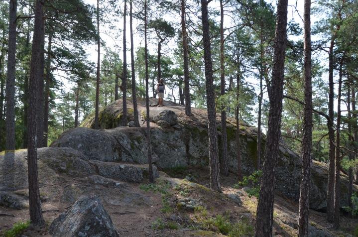 Kadin's massive boulder