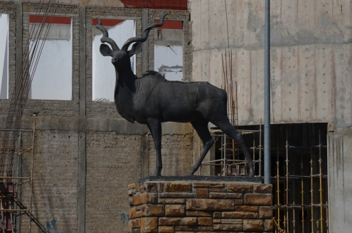 Kudu statue
