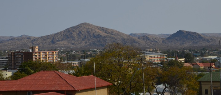 View of Windhoek