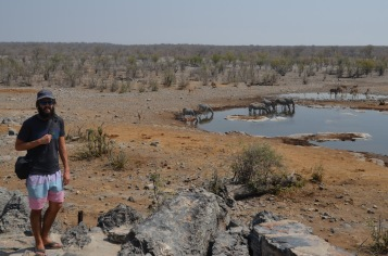 Waterhole at the camp