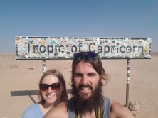 Tropic of Capricorn Selfie
