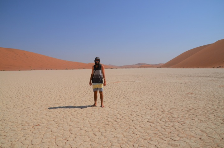 Reached the Deadvlei