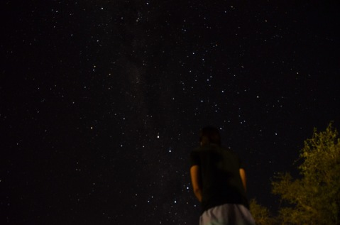 Star gazing (Better in real life)