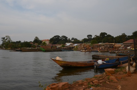 Boat Harbour at Lake Victoria