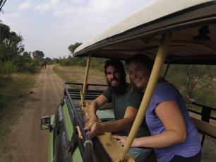 Safari selfie (Go-Pro)