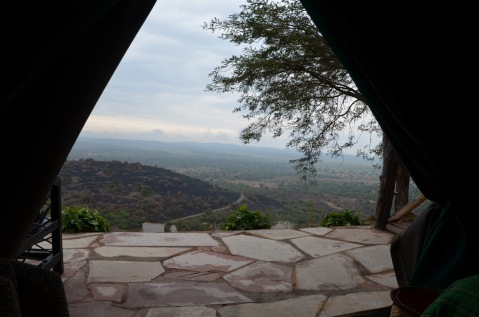 Mburo national park from our tent