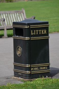 Fancy rubbish bins