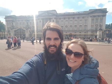Buckingham selfie
