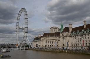 Looking toward London Eye