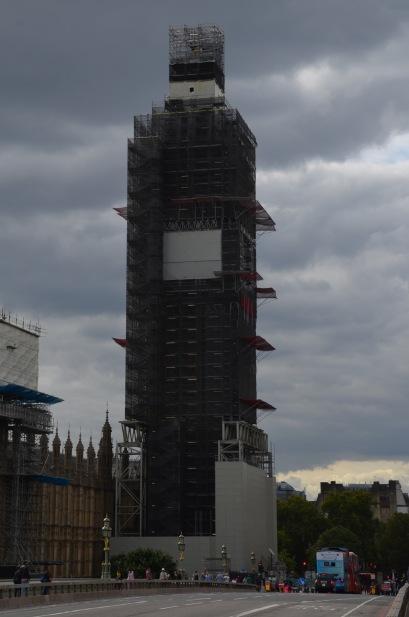 Big Ben is hiding
