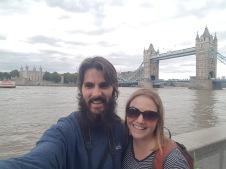 Tower Bridge selfie