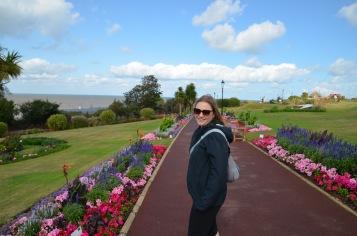 Pretty garden walk