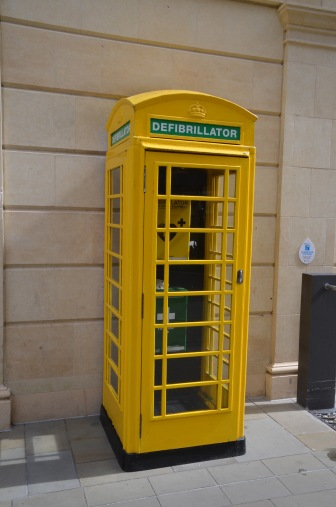 Great use of old telephone booths