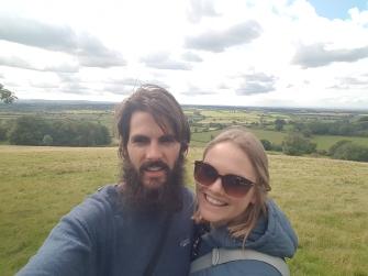 Countryside selfie
