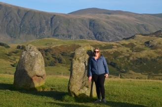 Gemma hoping to travel through the stones...