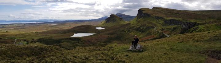 Gemma on a rock