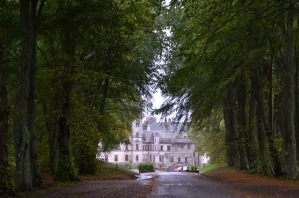Driveway to Dunrobin