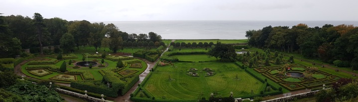 Panorama gardens ...with seaviews!