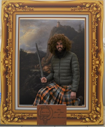 Man in a kilt
