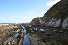 Tides out - Rock pools