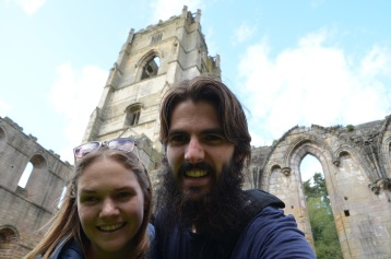 Fountains Abbey selfie