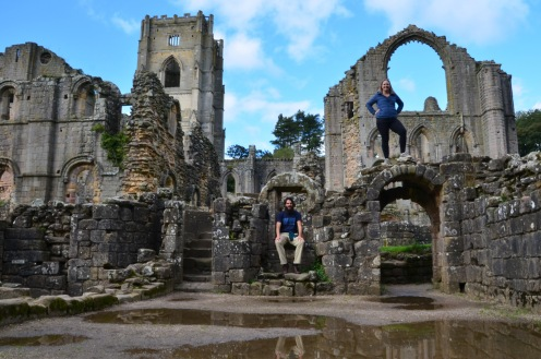 Timer photo in the ruins