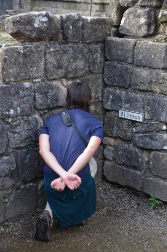Found a prisoner