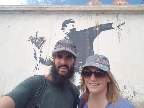 Banksy Art Selfie