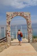 Gemma at the Dead Sea