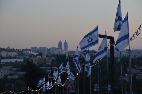 Jerusalem by dusk