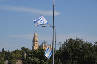 Walking to Mount Zion