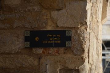 Entering King David's Tomb