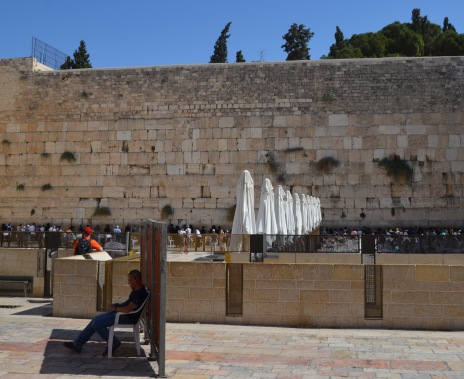 Outside the Western Wall
