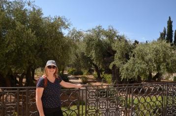 Gemma at the Garden of Gethsemane