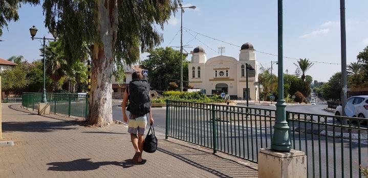 Arriving in Mazkeret Batya
