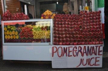 Pomegranate Wall