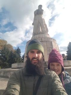 Monument selfie