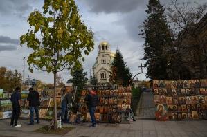 Religious art market