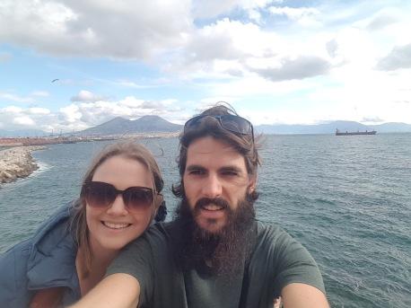 Vesuvius selfie