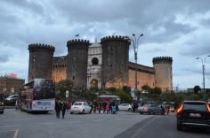 Castel Nuovo night
