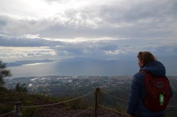 Looking towards sorrento peninsula