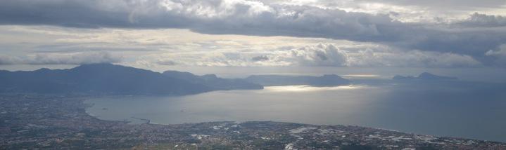 Sorrento peninsula and Capri