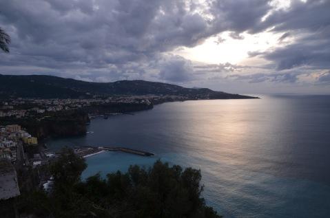 Looking towards Sorrento coast